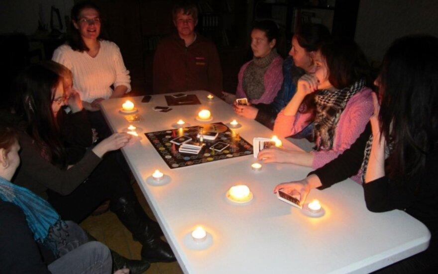 Valkininkuose vyko stalo žaidimų vakaras