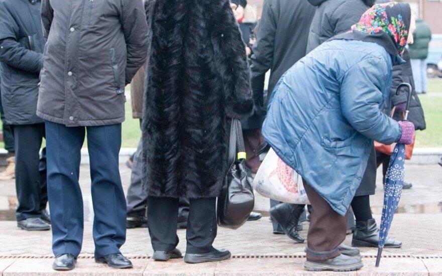 Vilniuje – mitingas ir eitynės dėl pensijų