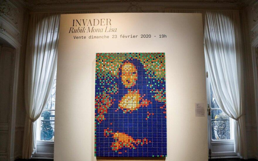 Rubik Mona Lisa