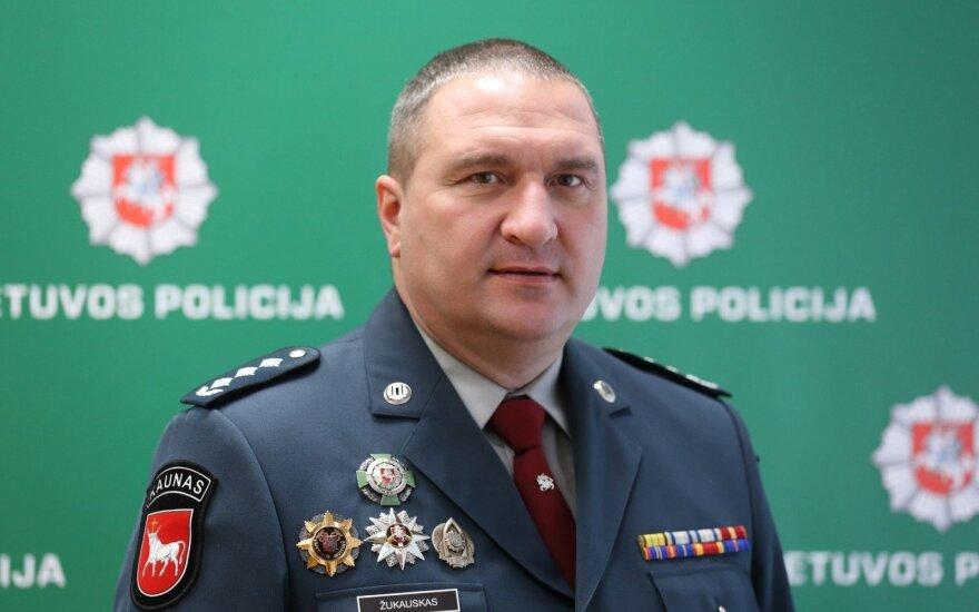 Kauno apskr. VPK viršininko Darius Žukauskas