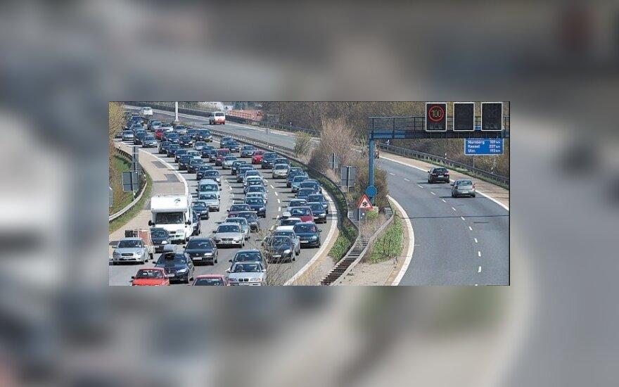 Vairavimo kultūra Europos keliuose