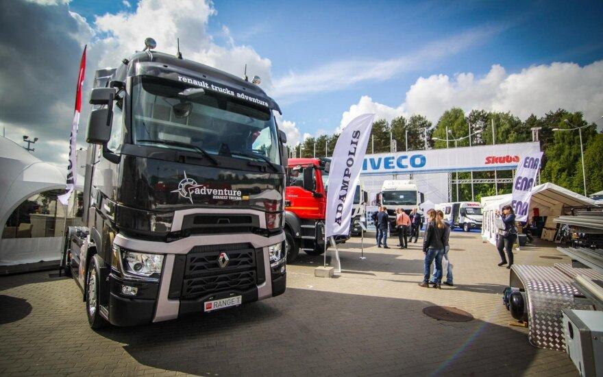 Sunkvežimių verslas ieško nišų rinkoje