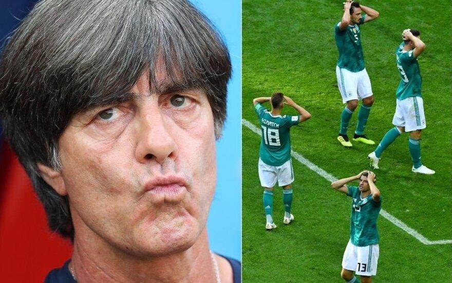 Vokiečių treneris Lowas: man – šokas, bet mes nusipelnėme būti eliminuoti
