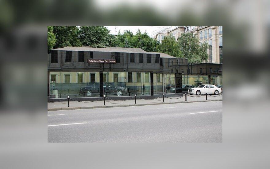 Rolls-Royce automobilių salonas Maskvoje