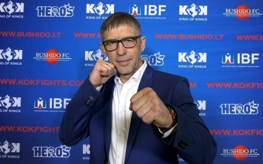Išrinktas naujasis Lietuvos K-1 federacijos prezidentas