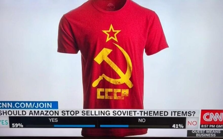 After Strasbourg Court conclusion, MEP urges Amazon to treat Soviet symbols like Nazi's