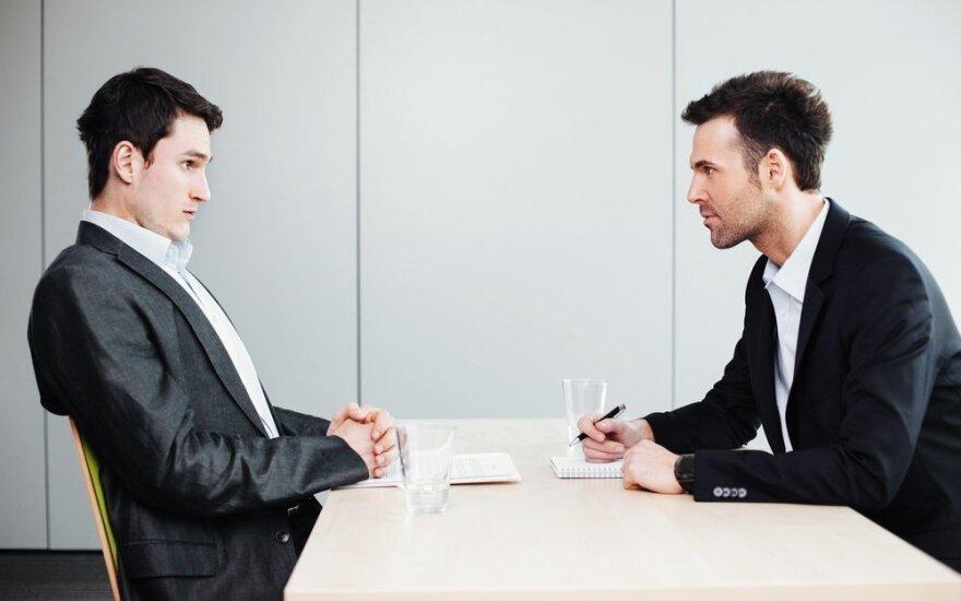 Pagrindinės darbo pokalbio taisyklės: kaip nesusimauti?