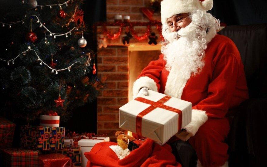 Kada pasakyti tiesą vaikams apie Kalėdų senelį?