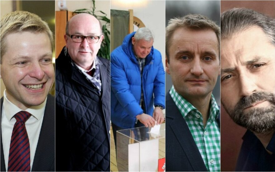 Remigijus Šimašius, Visvaldas Matijošaitis, Vytautas Grubliauskas, Arūnas Visockas ir Rytis Mykolas Račkauskas