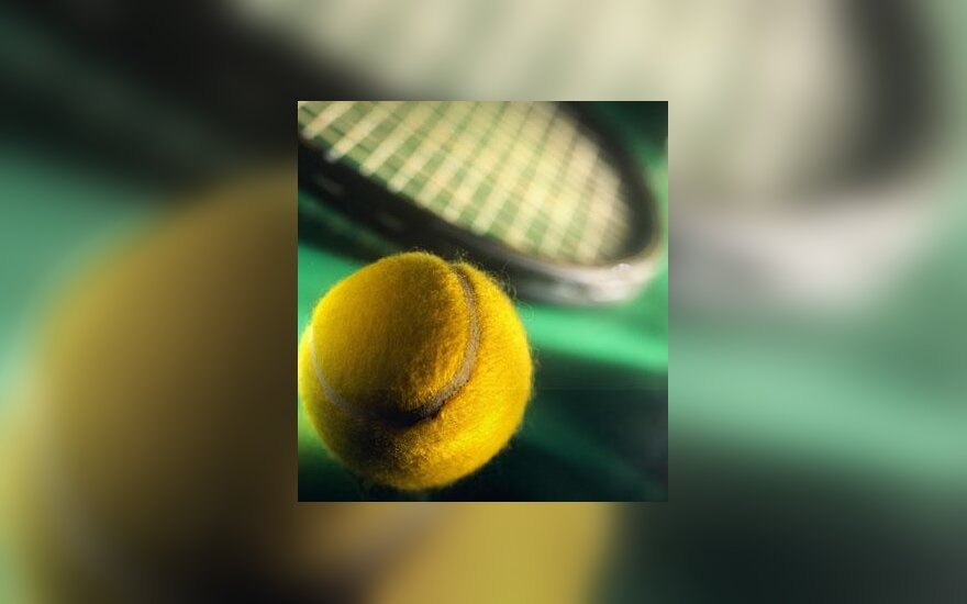 Tenisas, teniso kamuoliukas, teniso raketė