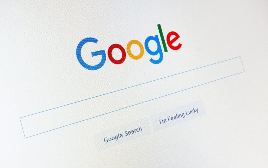 """""""Google"""" sumokėjo Rusijos ryšių prievaizdo skirtą baudą"""