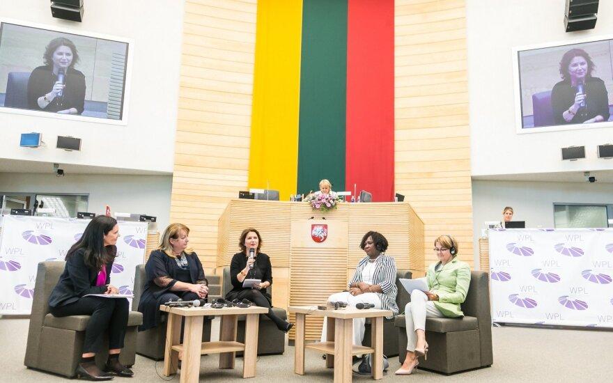Pasaulio politikos lyderės diskutavo apie moterų laisvę
