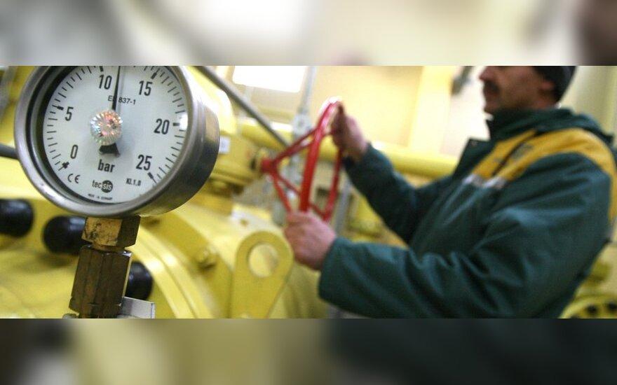 Įmonėms dujų kaina mažėjo 1,3 proc.