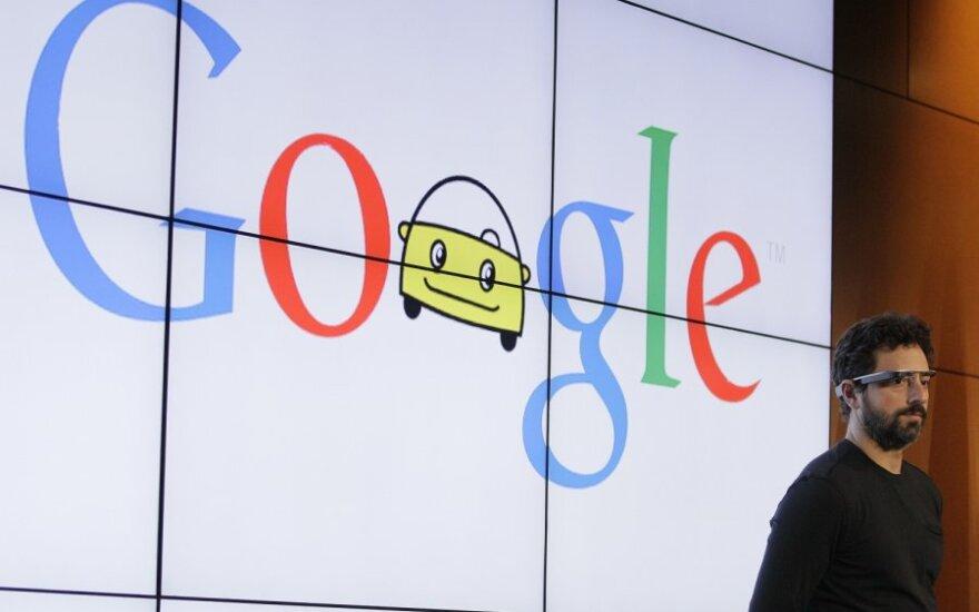 Autonomiški Google automobiliai