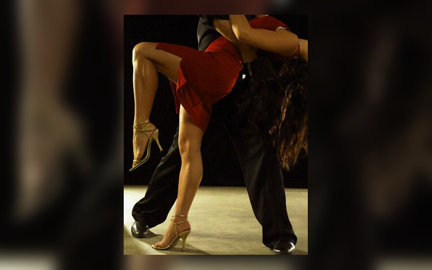 Šokis, aistra, vyras ir moteris