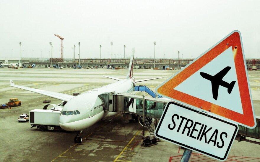 Oro linijų streikai: ar dar ilgai už tai atsakys keleiviai?