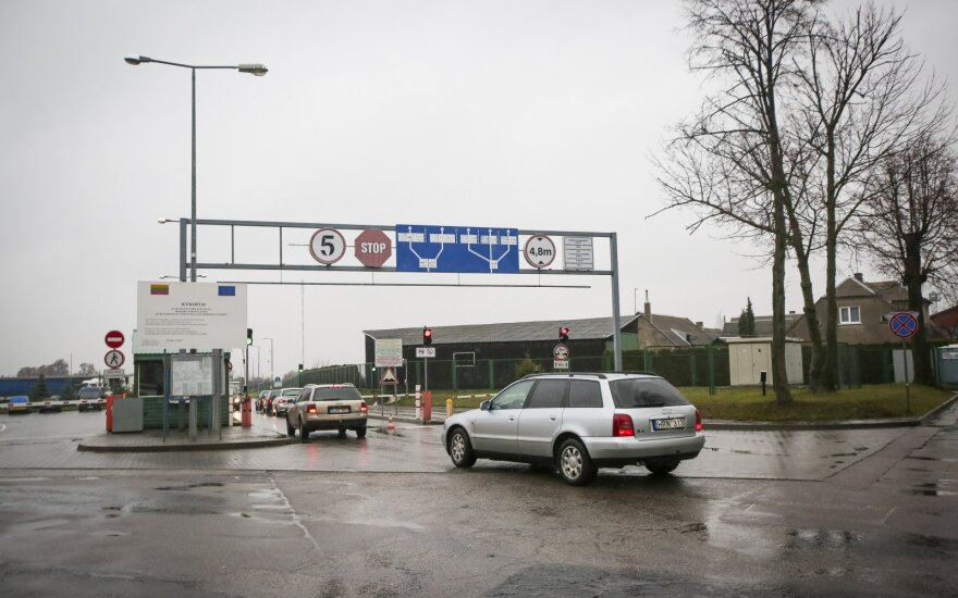 Four border checkpoints to be temporarily closed on Lithuanian-Russian border