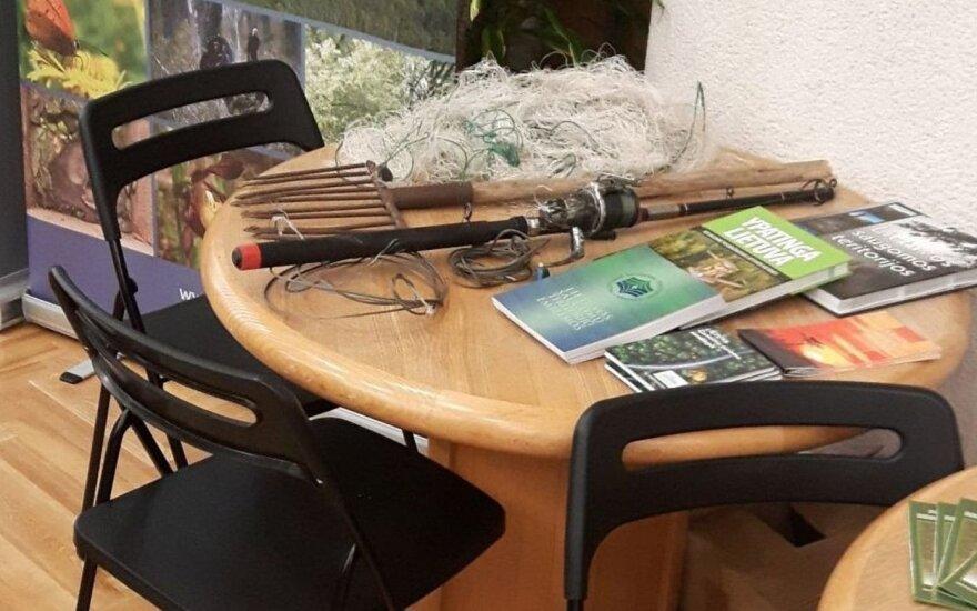 Brakonierių žūklės įrankiai