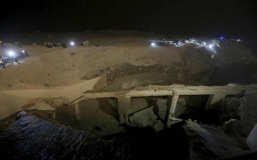 Jordanijoje per staigų potvynį žuvo 17 žmonių