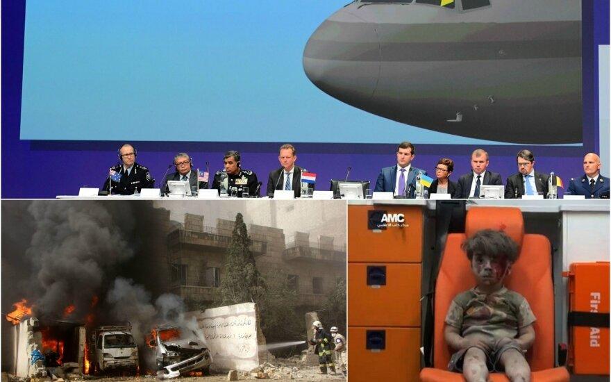 MH-17 ir Alepo krizė