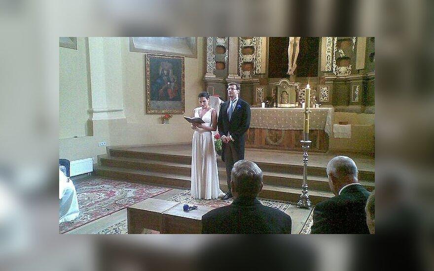 Modesto Pitrėno ir Ievos Prudnikovaitės vestuvės