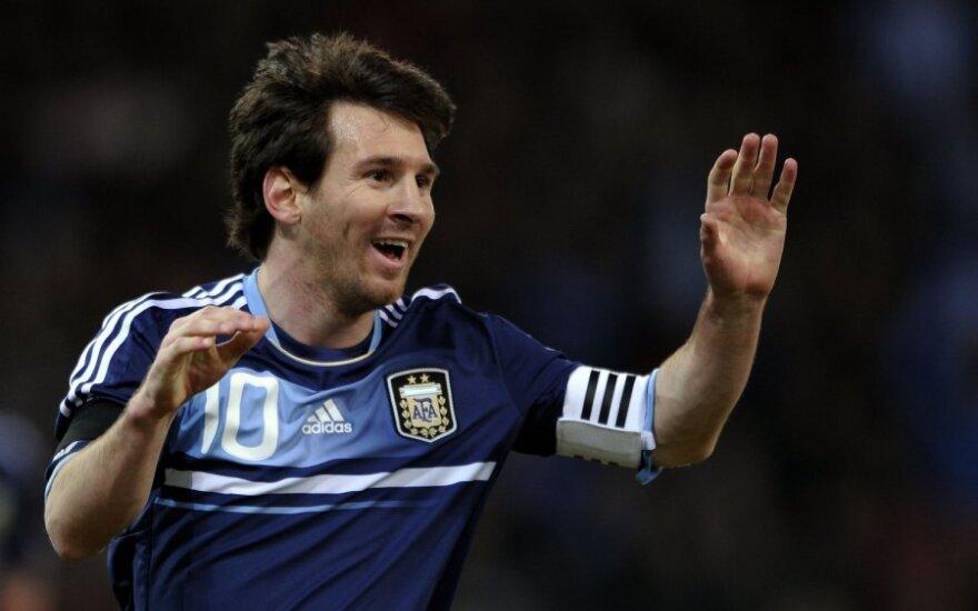 L.Messi senelis: turiu dar vieną talentingą anūką