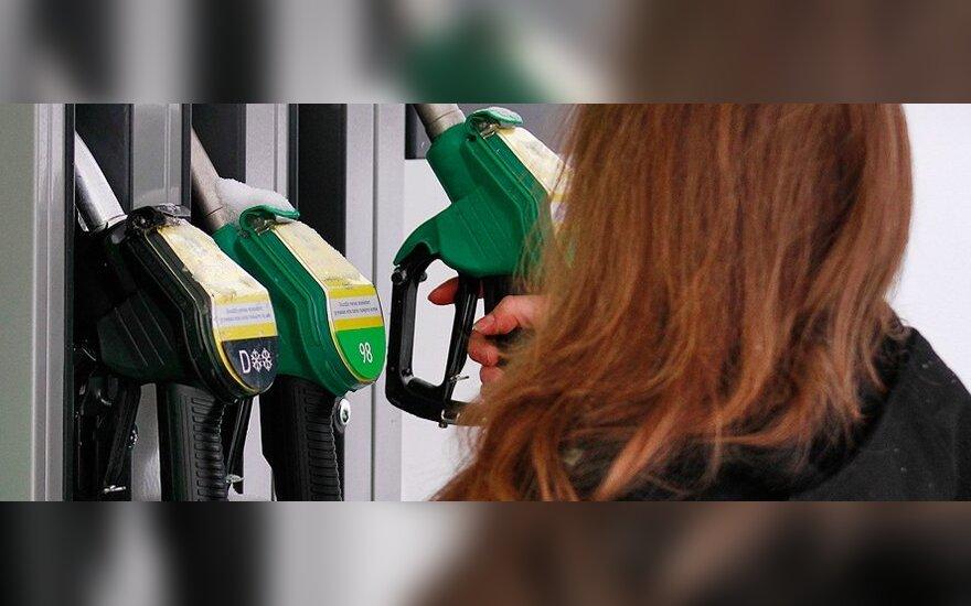 Rusijos vyriausybė skubiai sumažino degalų akcizus