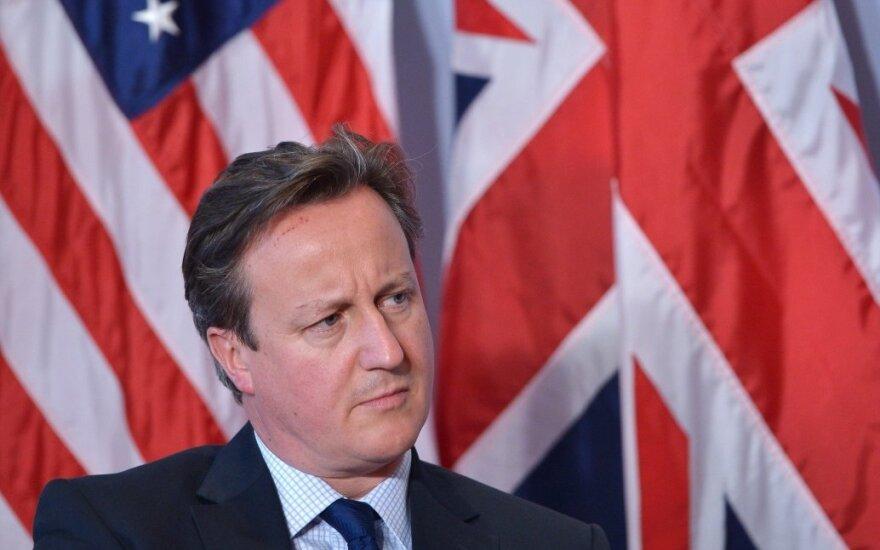 Britų parlamentas uždegė žalią šviesą referendumui dėl narystės ES