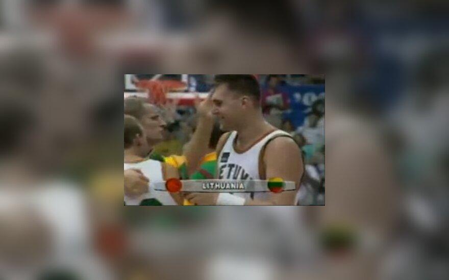 Arvydas Sabonis 1992 metų Barselonos olimpiadoje