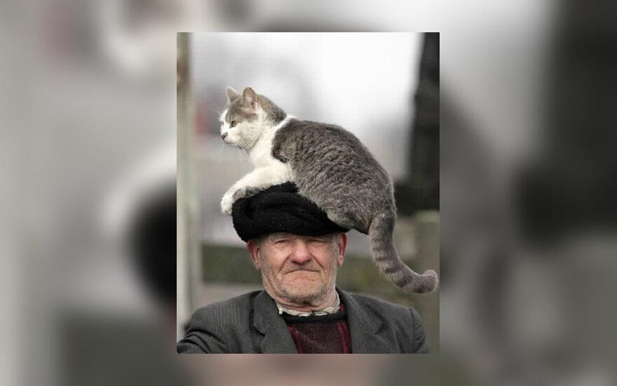 Baltarusijos Streličevo kaimo gyventojas