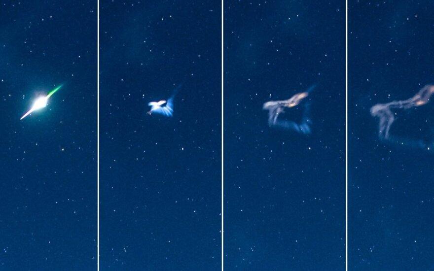 Į Žemęs atmosferą įskriejęs ir sprogęs meteoras, dar vadinamas bolidu.