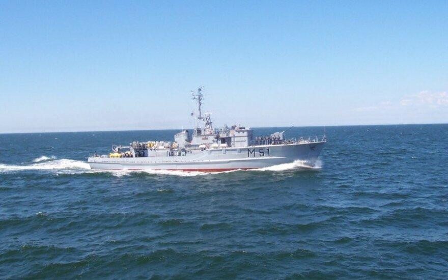 Lithuanian naval ship Kuršis to attend NATO summit events
