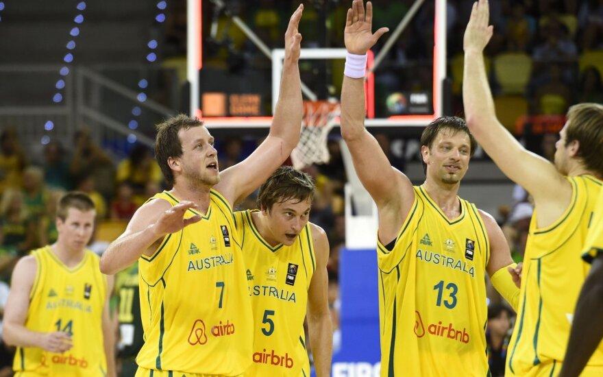 Australijos krepšinio rinktinė