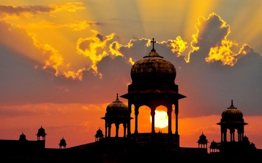 Indijos centrinis bankas sumažino šalies ūkio augimo prognozę