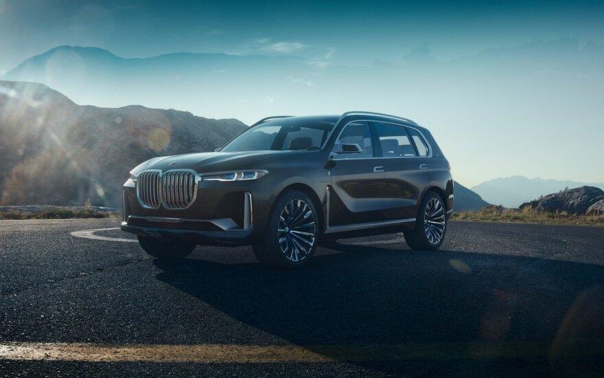 """BMW X7"" koncepcija"
