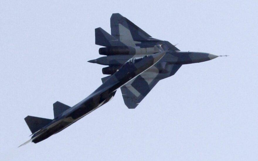 Rusijos naikintuvas T-50