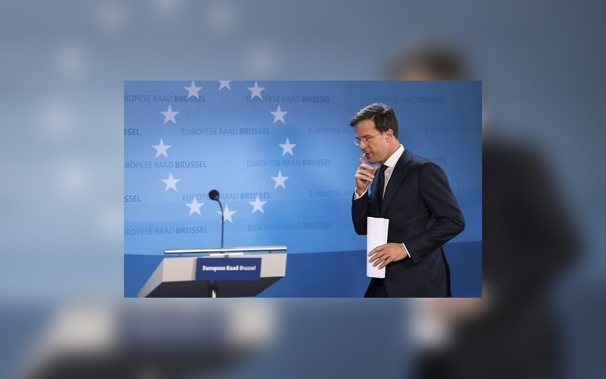 Nyderlandų ministras pirmininkas: Ankara mus šantažavo