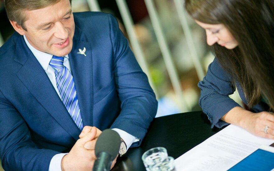 Ramūnas Karbauskis ir Eglė Samoškaitė