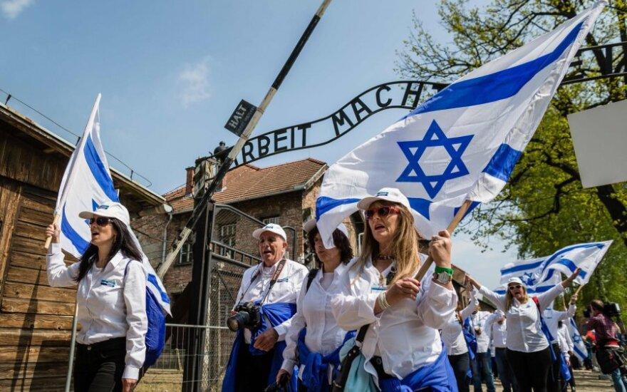 Žydų bendruomenė lankosi Aušvice