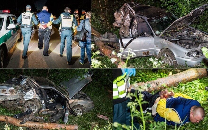 Tragiška avarija Vilniaus rajone: vienas žuvęs, vienas komos būsenos, trečias sulaužytais kaulais