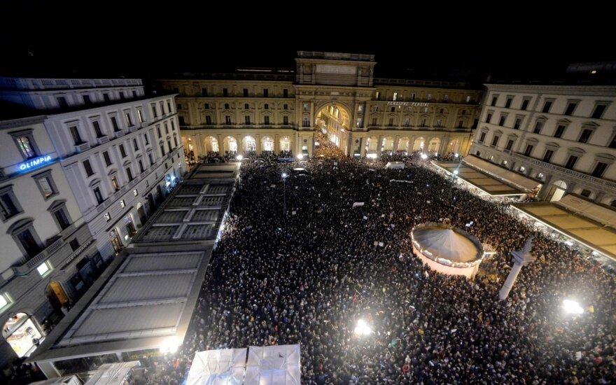 Protestas Italijoje