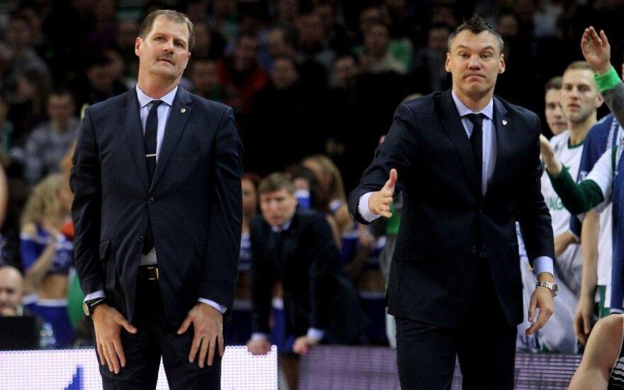 """Š. Jasikevičius po sezono paliks """"Žalgirį"""" ir taps vyriausiuoju treneriu?"""