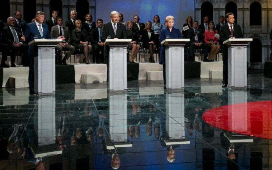 Iki Prezidento rinkimų likus savaitei intriga ta pati