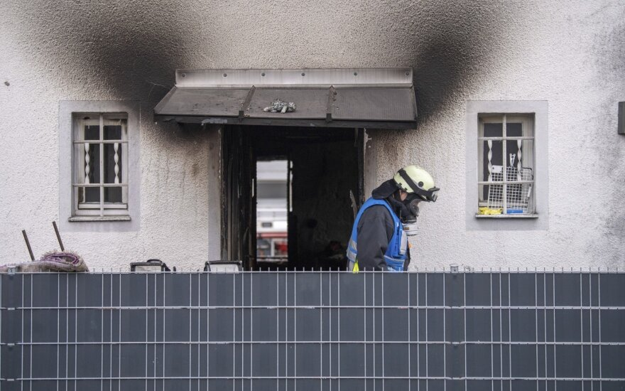 Pietų Vokietijoje per gaisrą žuvo keturi vaikai ir suaugusysis