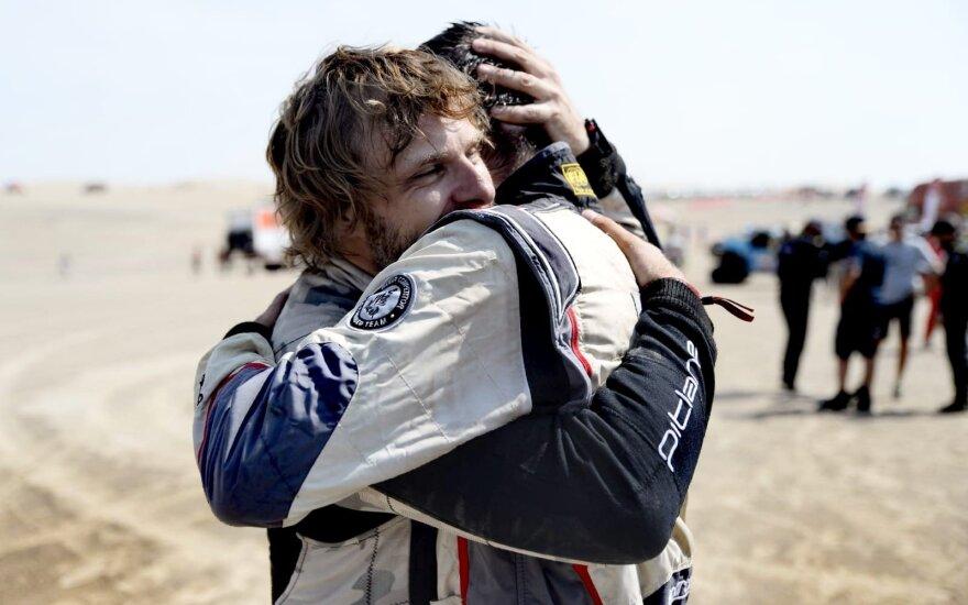 Benediktas Vanagas finišavo Dakare su nauju rekordu