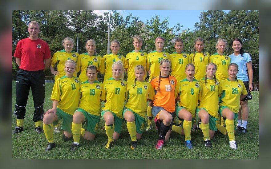Lietuvos merginų U-19 jaunimo futbolo rinktinė