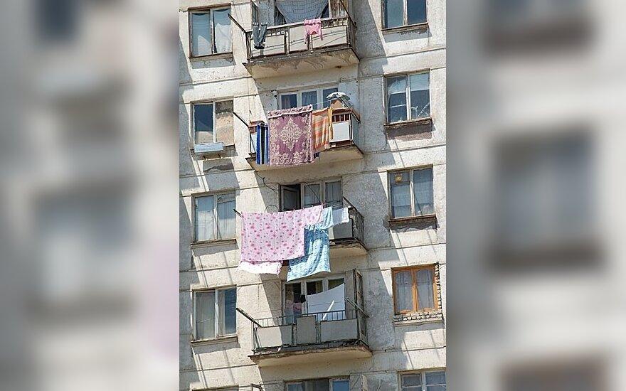 Mokestis – ir už balkonus