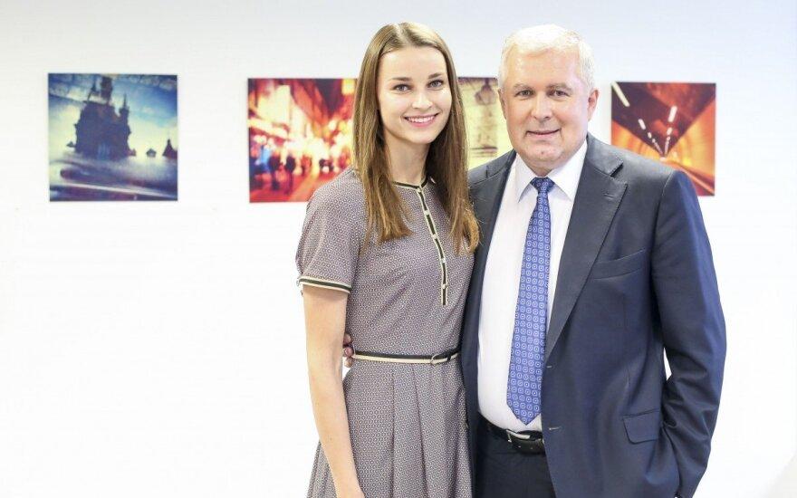 Arvydas ir Lina Anušauskai