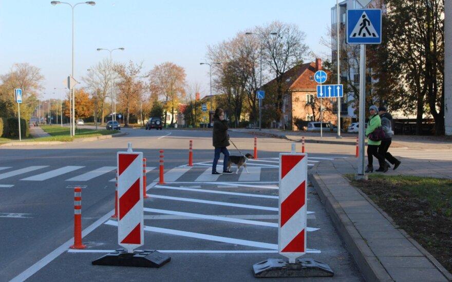 Eismo pokyčiai Kretingos gatvėje Klaipėdoje