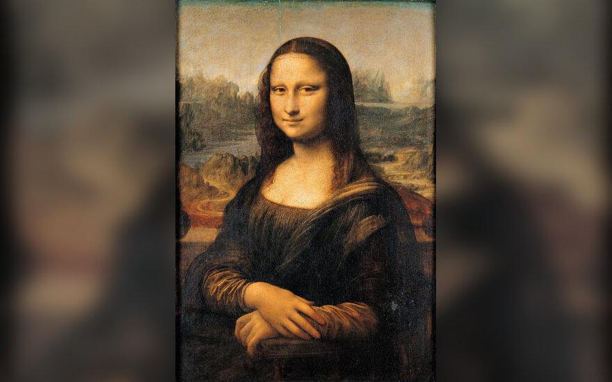 "Leonardo da Vinci. ""Mona Liza"""